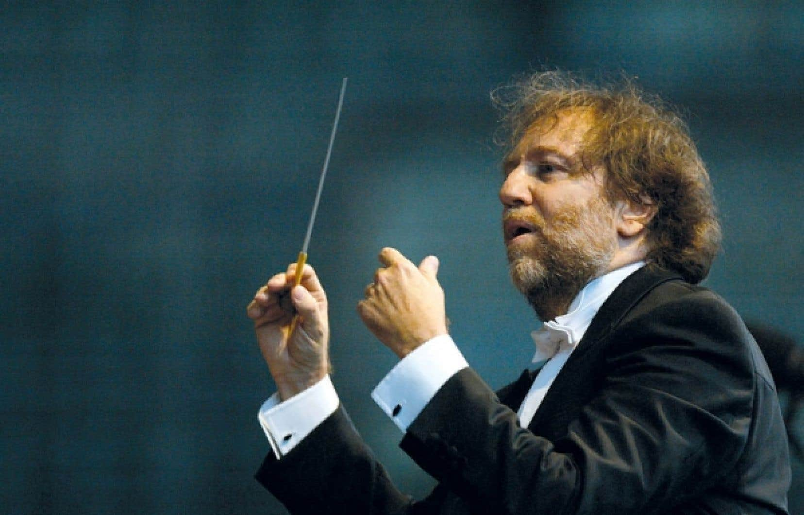 Le chef d'orchestre italien Riccardo Chailly<br />