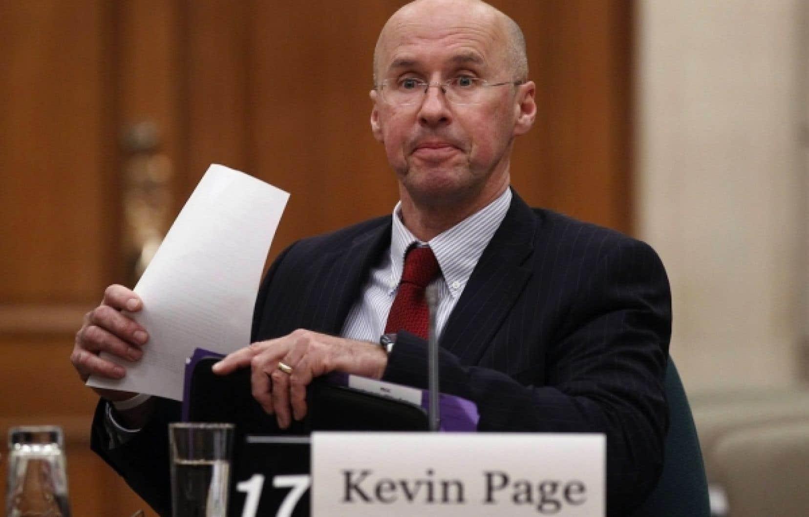 Selon Kevin Page, les nouvelles restrictions concernant la possibilité pour un délinquant d'obtenir une peine de prison avec sursis pourraient entraîner des frais de 137 millions annuellement pour les provinces et territoires.