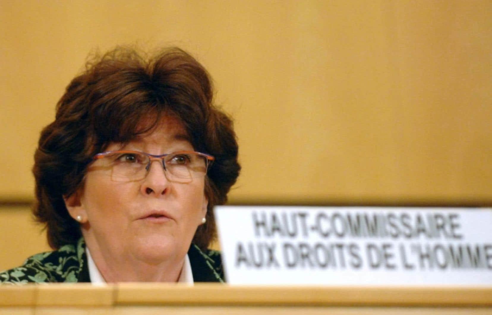 Louise Arbour, ex-haute-commissaire au Haut-Commissariat des Nations unies aux droits de l&rsquo;homme, est au nombre des signataires de la missive adress&eacute;e au premier ministre Harper.<br />