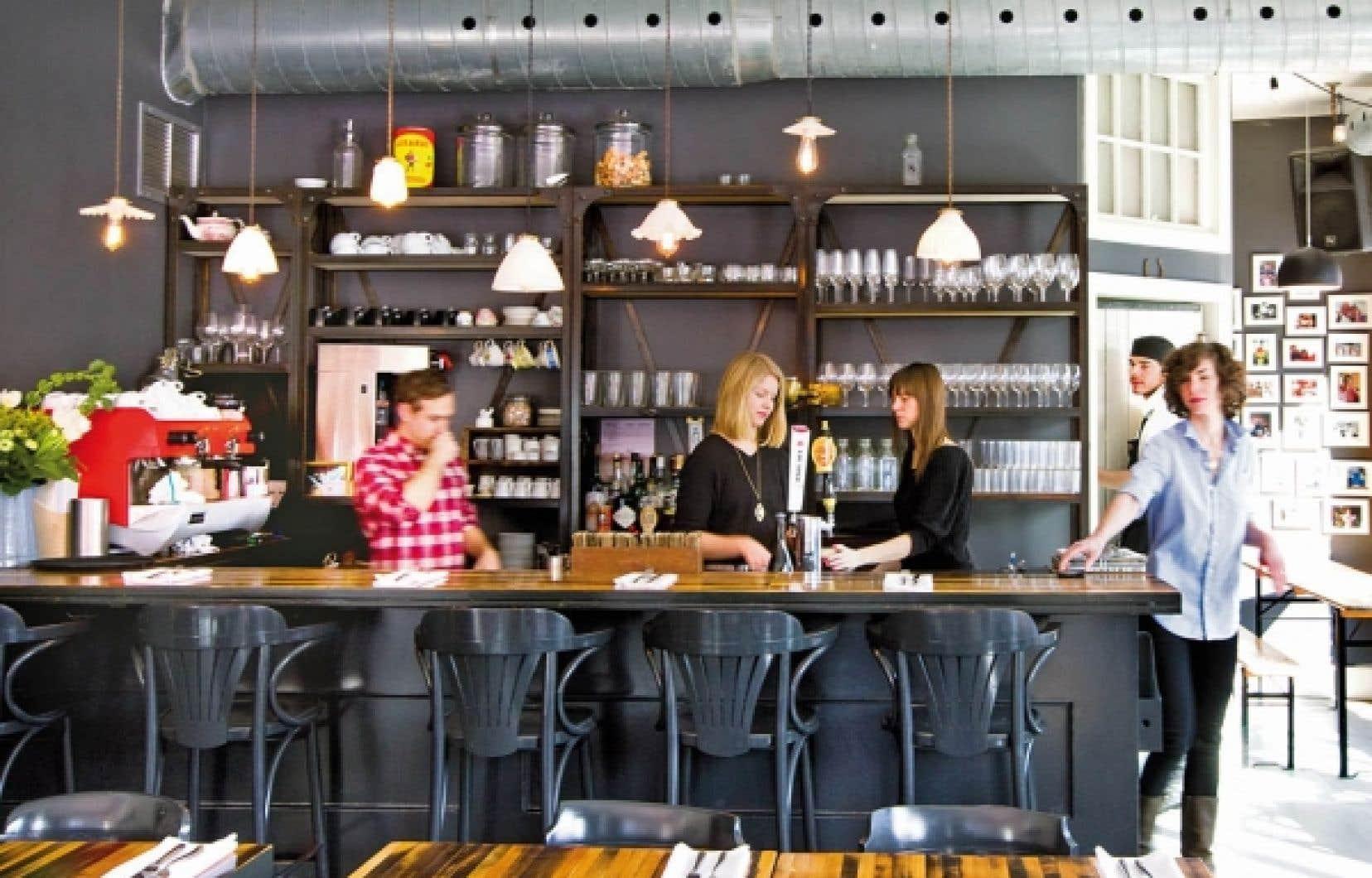Le restaurant Lawrence s'affiche simplement mais nous offre le vrai Montréal gourmand. On n'essaie pas ici de refaire ce qu'on trouve ailleurs.<br />