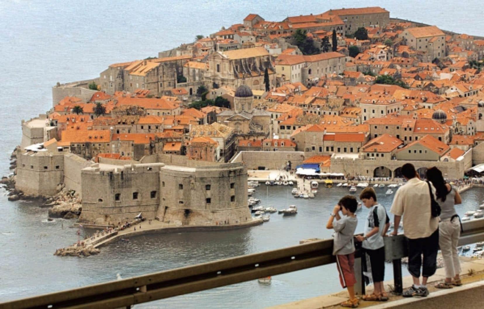Dubrovnik, la perle de l'Adriatique, en Dalmatie.<br />