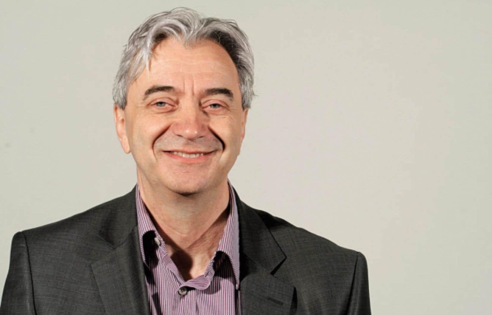 Le doyen de la Faculté de l'aménagement de l'Université de Montréal, Giovanni De Paoli
