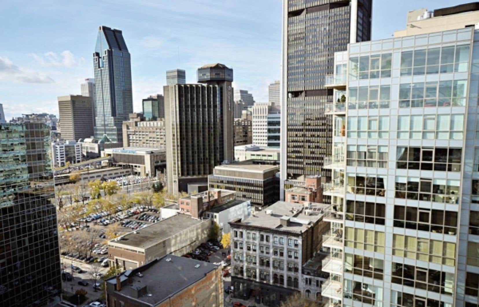 Les condos Saint M se situent &agrave; la crois&eacute;e du Vieux-Montr&eacute;al et du centre-ville.<br />