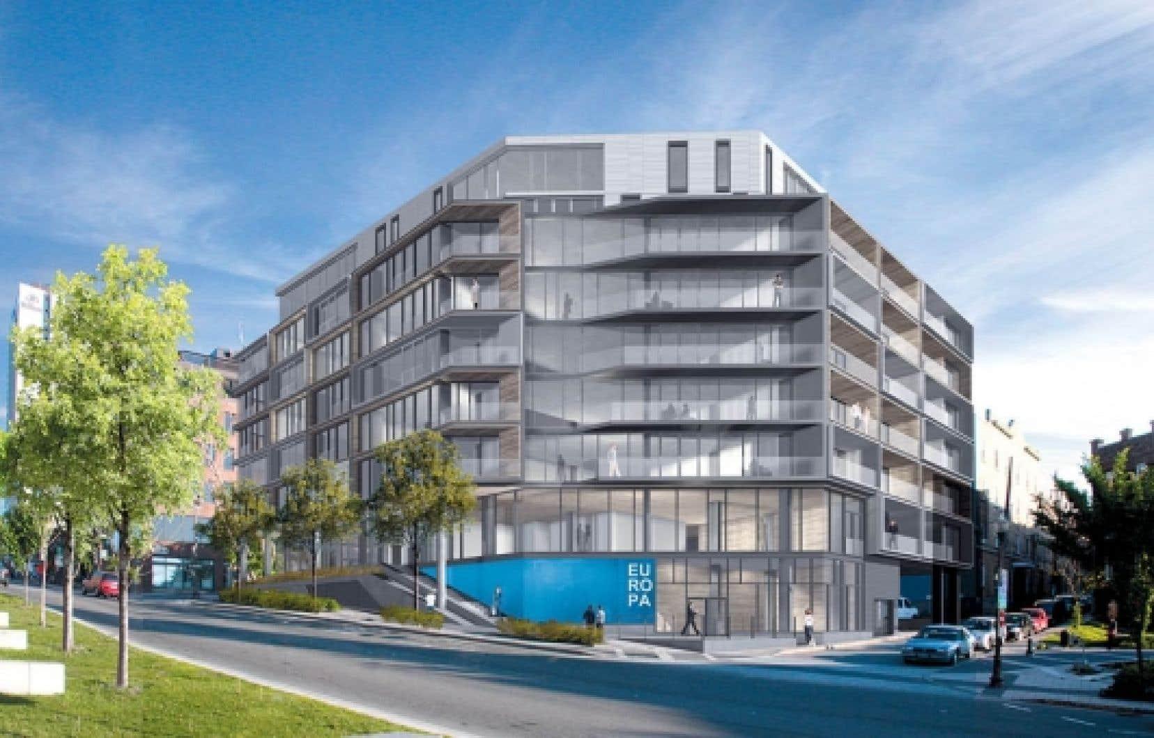 L'entreprise est dans sa deuxième phase et se concentre sur des constructions nouvelles qui prendront place sur des terrains de choix disponibles, comme celle de l'îlot d'Aiguillon, à l'entrée du Vieux-Québec.<br />