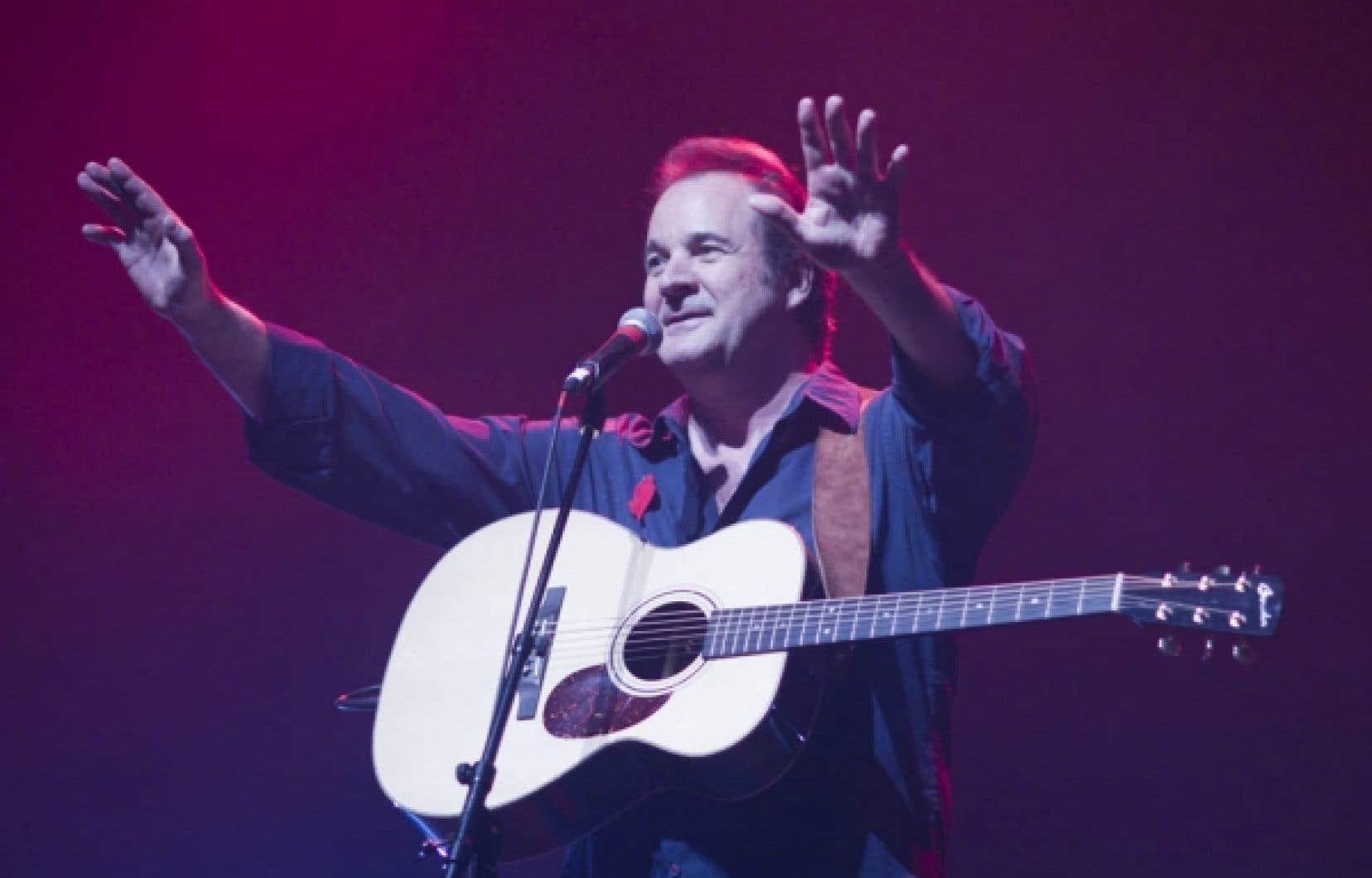 Le chanteur Paul Piché est au nombre des artistes qui ont participé hier à Montréal à un spectacle en appui aux étudiants grévistes.