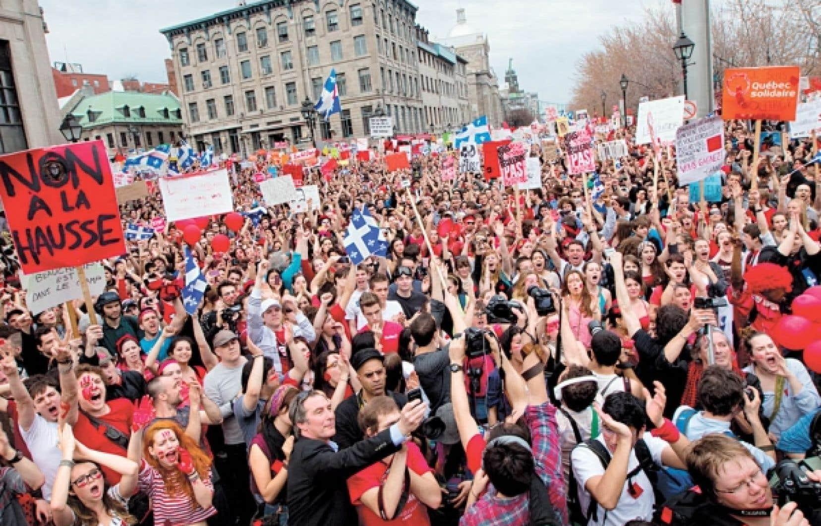 La manifestation de jeudi était une réalisation collective aussi sérieuse que festive.<br />