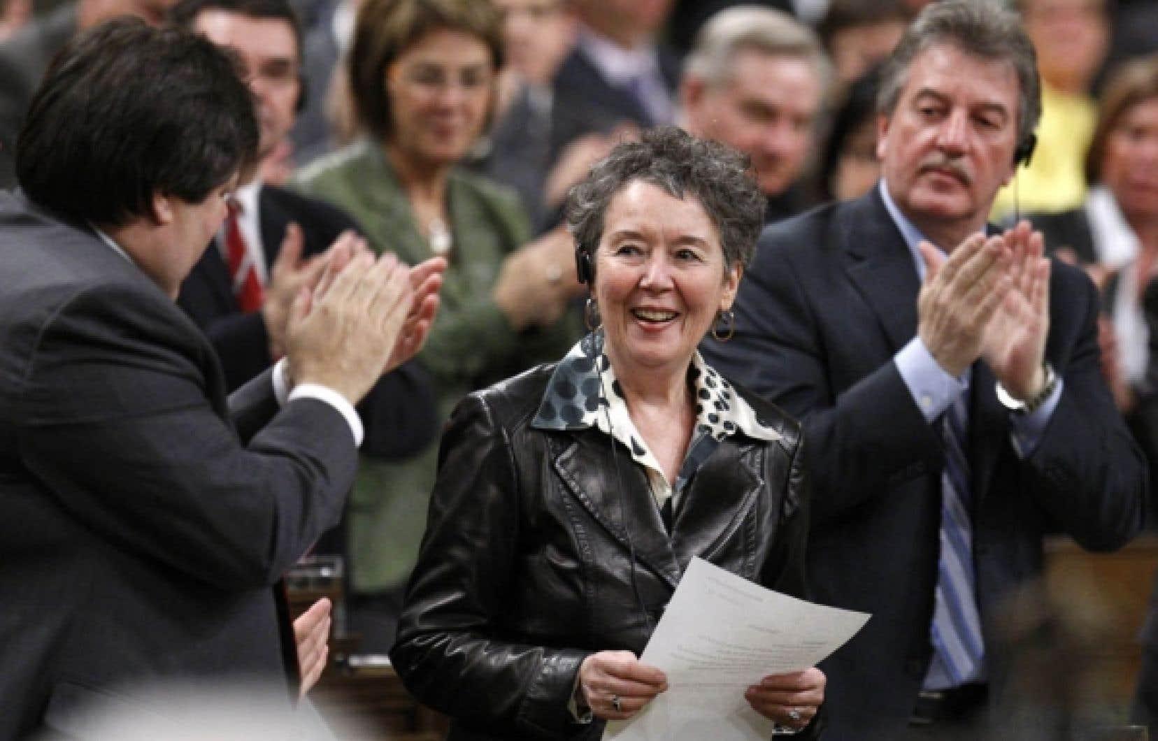 Francine Lalonde, qui a été députée fédérale de 1993 à 2011, a pris à bras-le-corps la question de mourir dignement.<br />