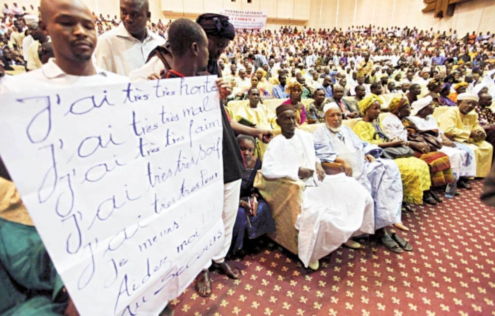 Des Maliens originaires du nord du pays se sont réunis hier à Bamako.