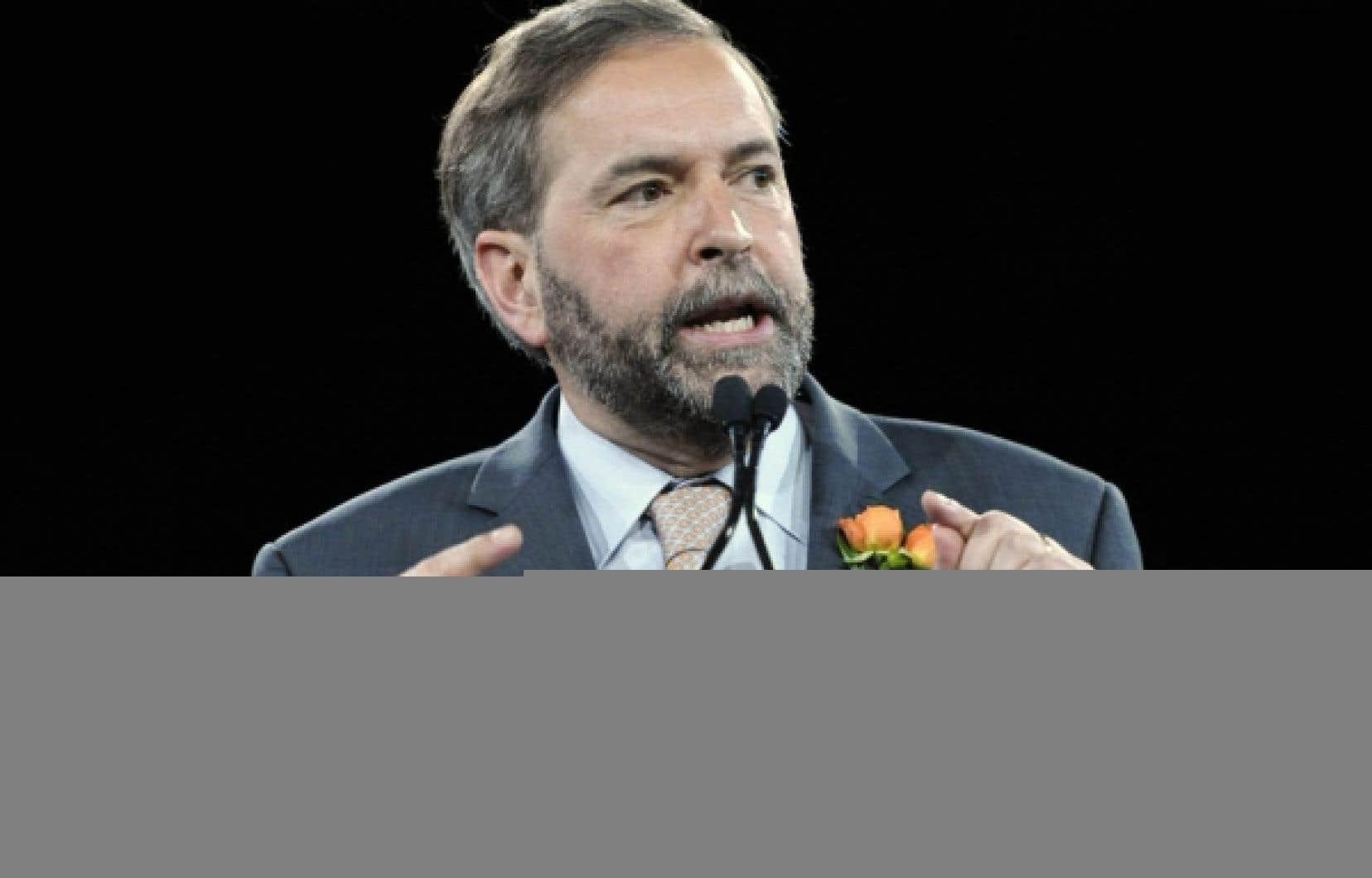 Thomas Mulcair fait une bonne rentrée dans le palmarès de la personnalité politique qui ferait le meilleur premier ministre, alors qu'un Canadien sur cinq lui donne son appui.