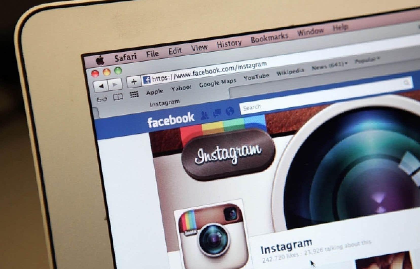Plus de cinq millions de clich&eacute;s sont mis en ligne sur Instagram chaque jour.<br />