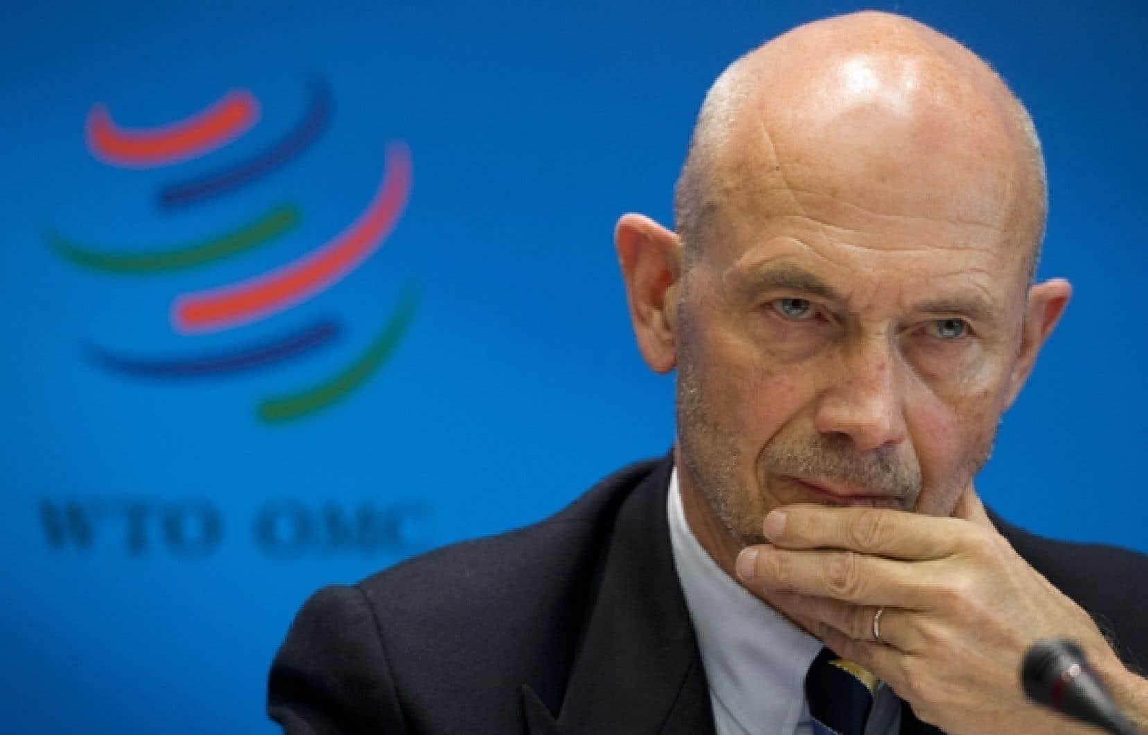 Pascal Lamy, directeur général de l'OMC: «Nous ne sommes pas tirés d'affaire.»<br />