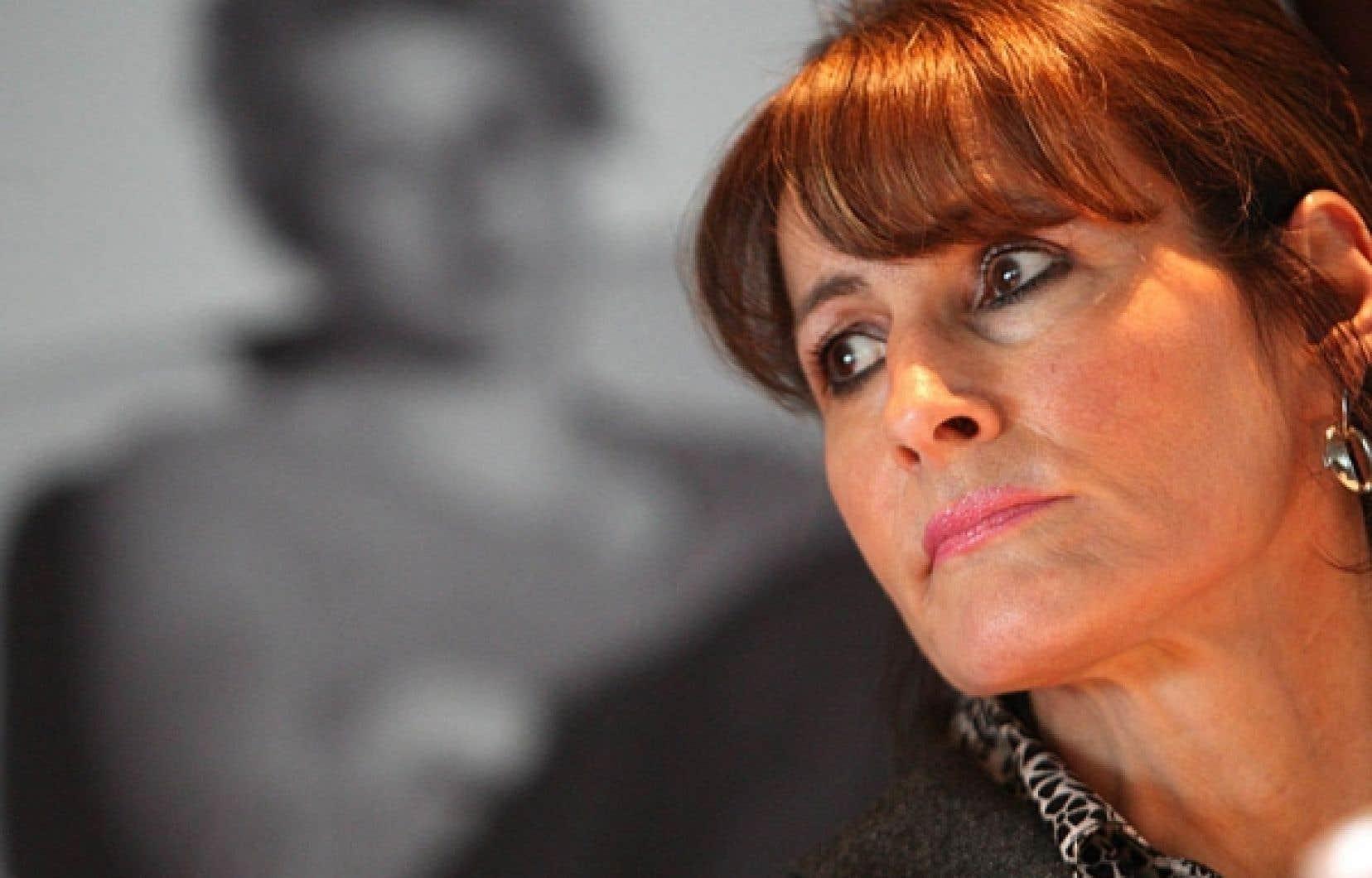 La ministre de l&#39;Immigration et des Communaut&eacute;s culturelles, Kathleen Weil<br />