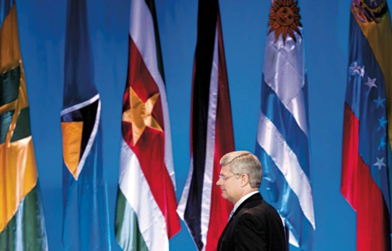 Le premier ministre Stephen Harper a participé au dernier Sommet des Amériques qui s'est tenu en Colombie, en avril dernier.