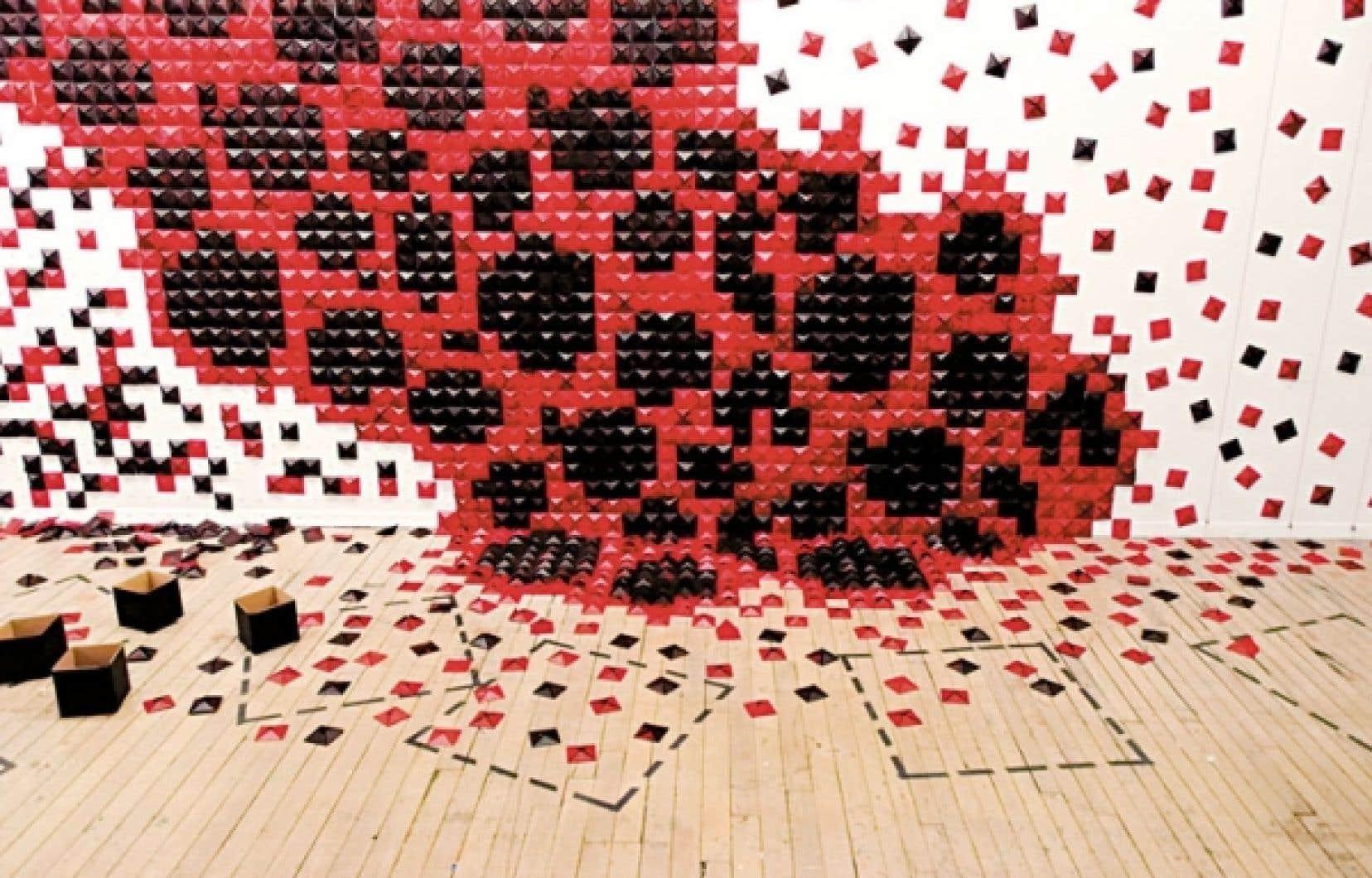 La chambre magmatique: matricielle 2, Andrée-Anne Dupuis Bourret