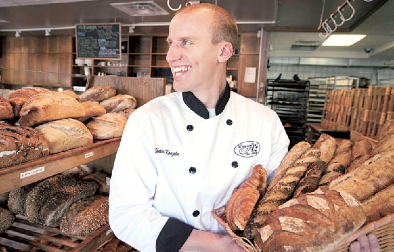 D'origine française, Sébastien Konzola œuvre depuis plusieurs années à L'Amour du pain, à Boucherville.