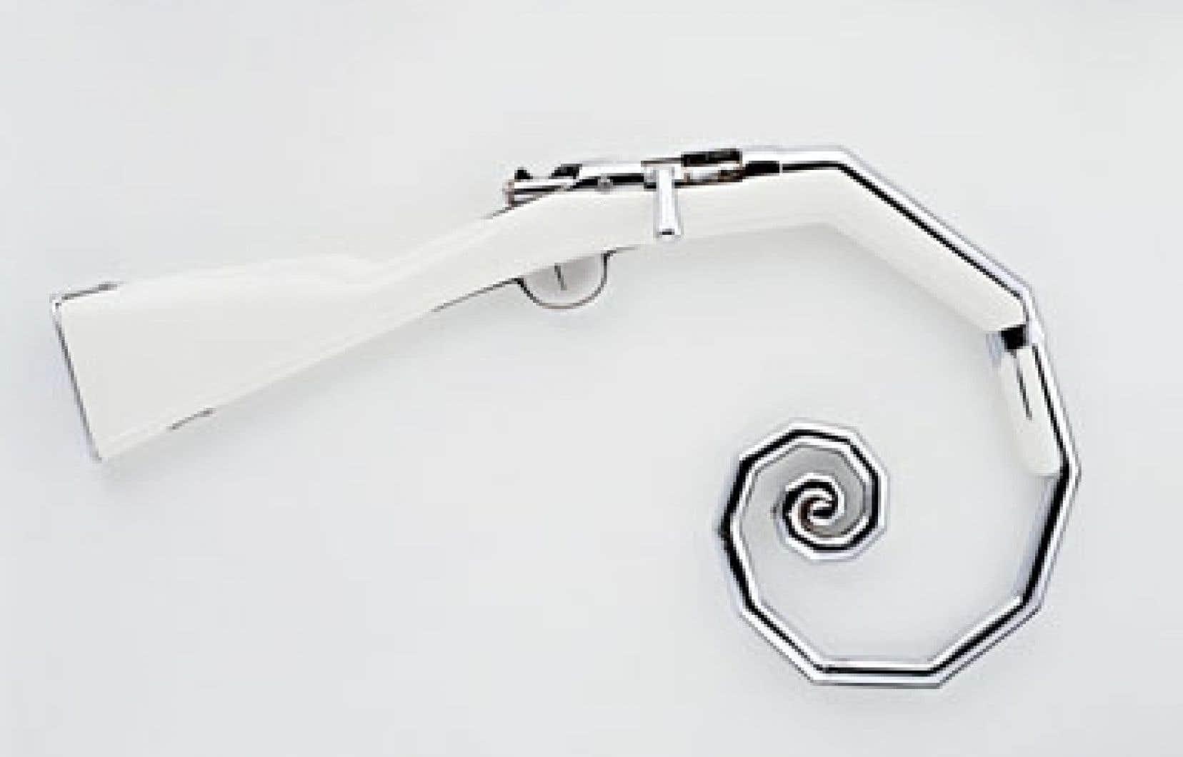 Trompe, 1998, Michel de Broin