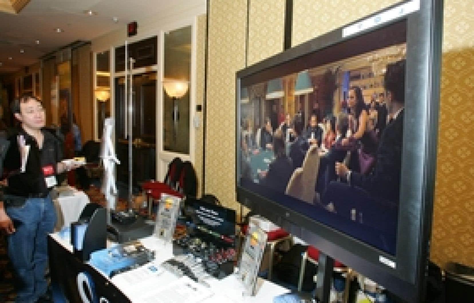 Des milliers de produits, comme ce téléviseur à écran de 47 pouces de Westinghouse, seront présentés à Las Vegas.