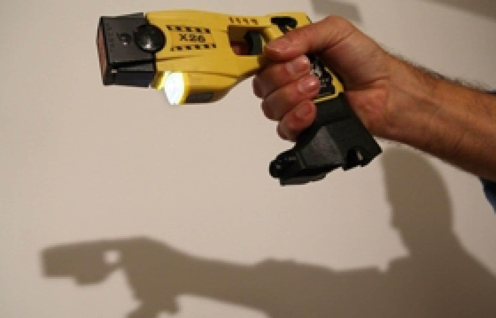 Le Taser, une arme qui est loin de faire l'unanimité.