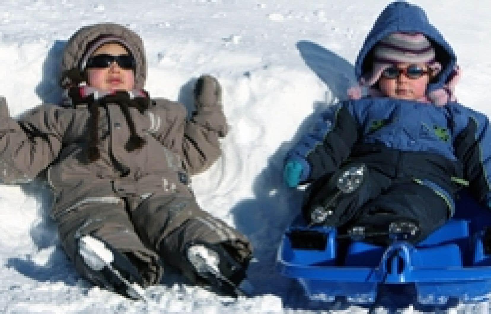 Un hiver enneigé comme on en a pas vu depuis longtemps? Qui s'en plaindra?