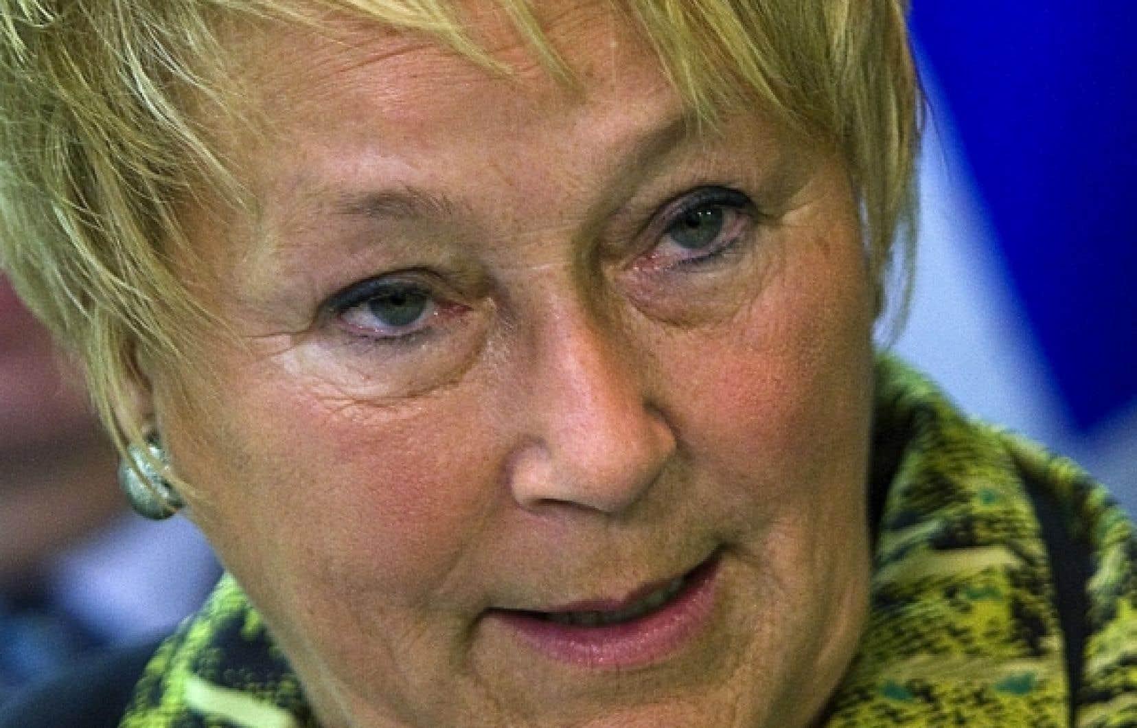 Pauline Marois a affirmé que ceux qui veulent se débarrasser des libéraux au prochain scrutin doivent se joindre au Parti québécois.