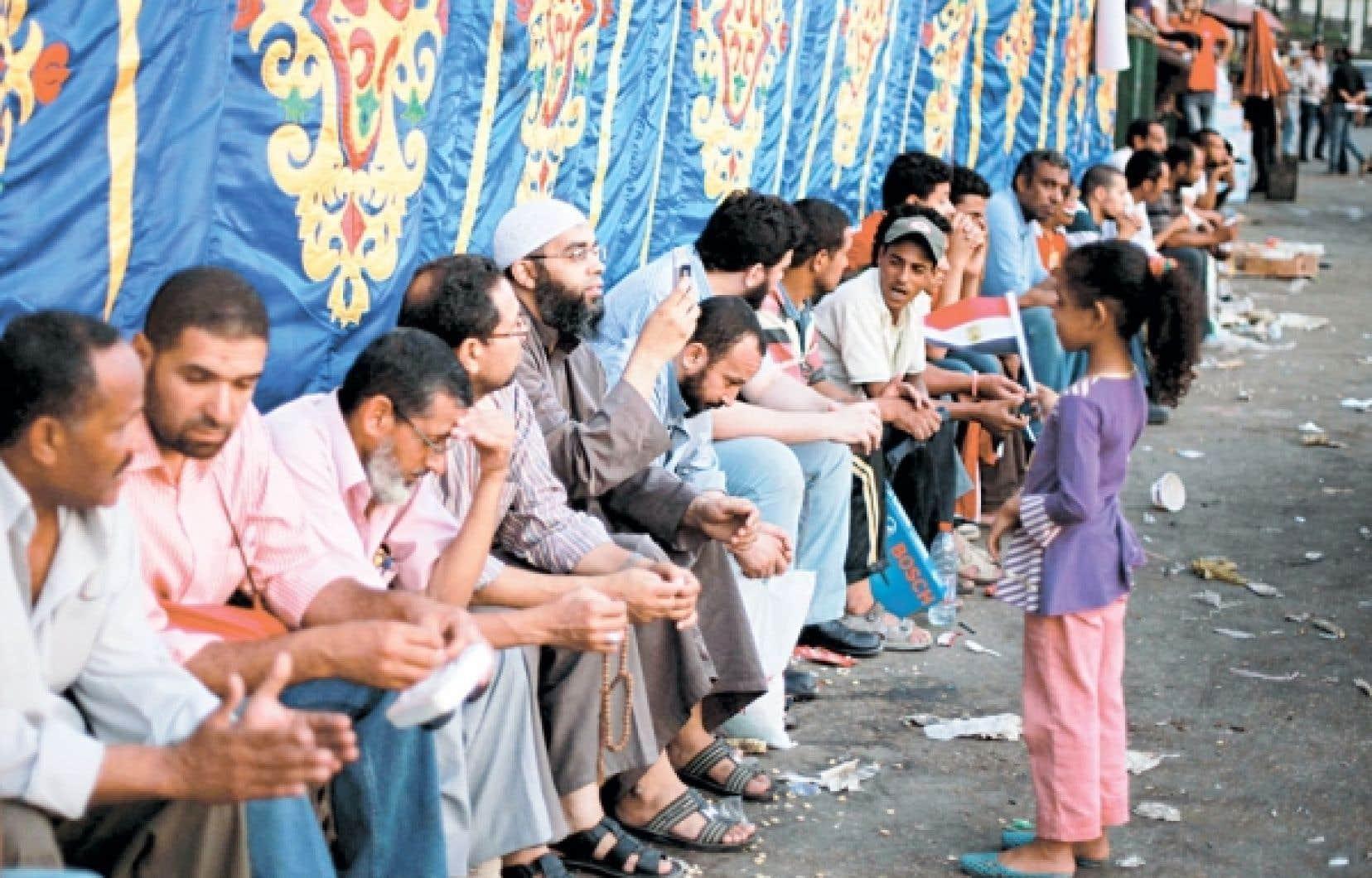 <div> Les Frères musulmans (et leurs enfants) à la place Tahrir</div>