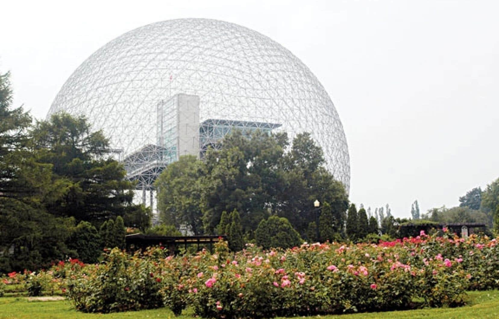 La Biosphère pourrait loger un centre météorologique.