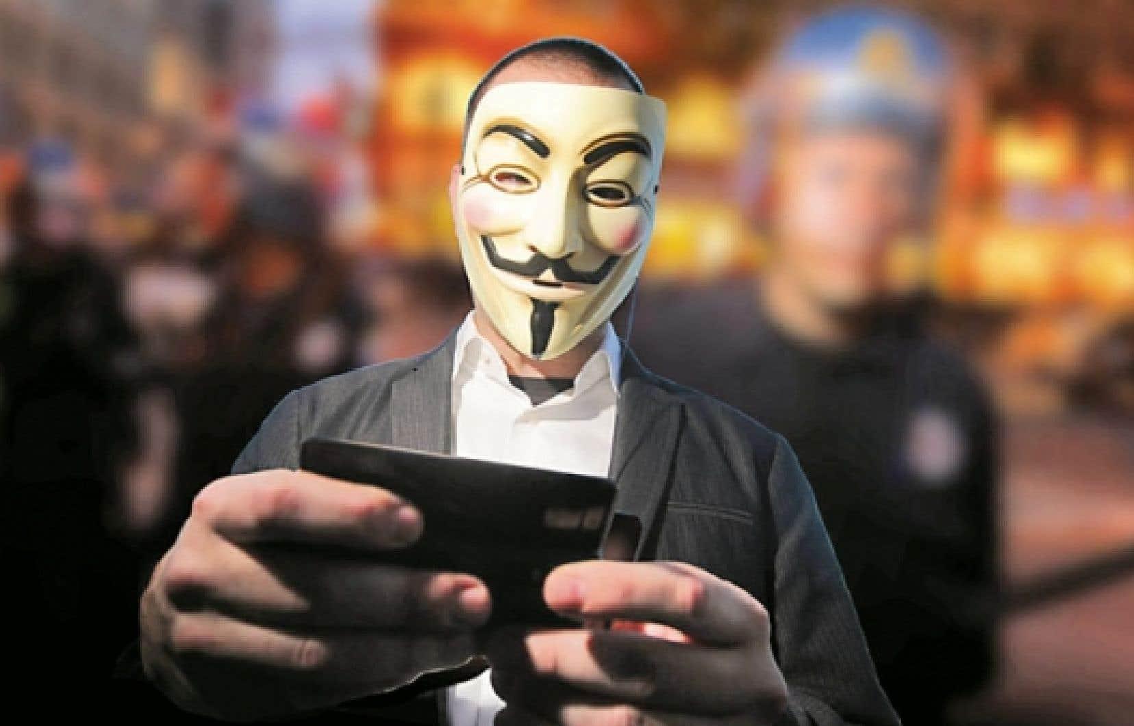 Scène de We Are Legion - The Story of Hacktivists, un documentaire de Brian Knappenberger