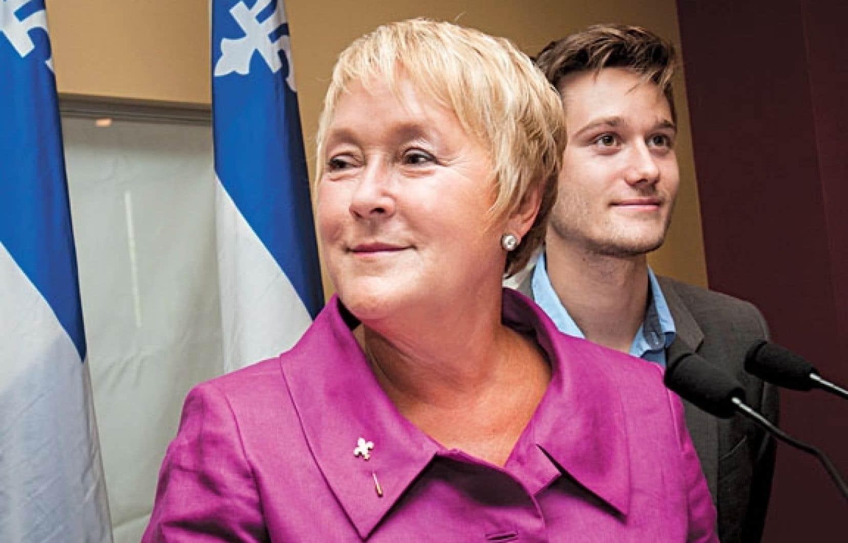 Pauline Marois affirme voir en Léo Bureau-Blouin un candidat à « l'envergure nationale » qu'elle entend bien avoir à ses côtés lors de la tournée électorale.