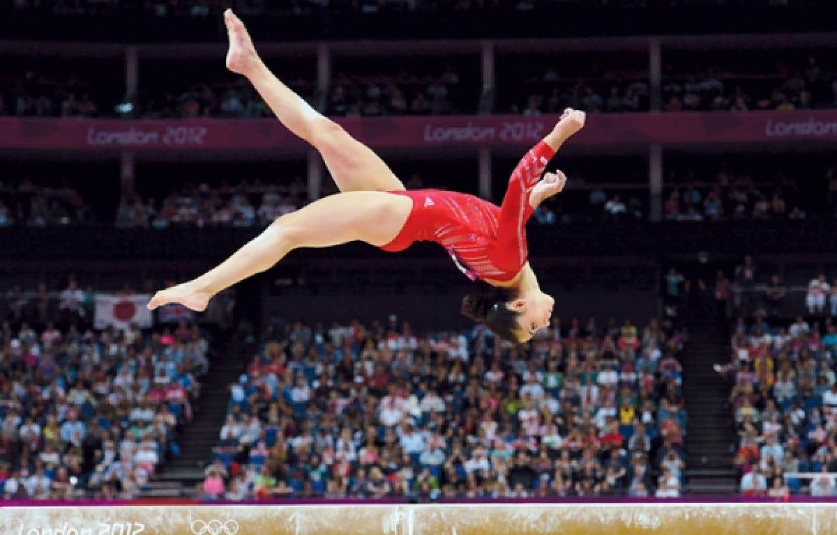 La gymnaste Alexandra Raisman