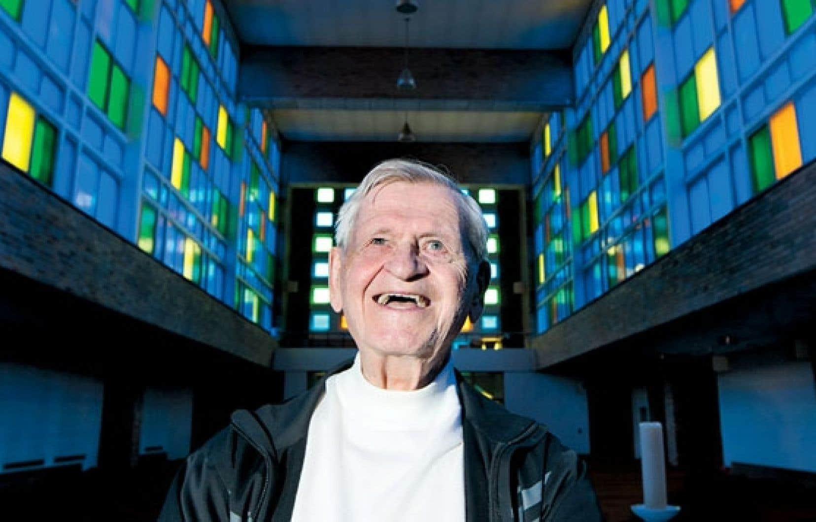 « L'âge nous impose une liberté », constate le père Benoît Lacroix, qui aura 97 ans dans un mois.