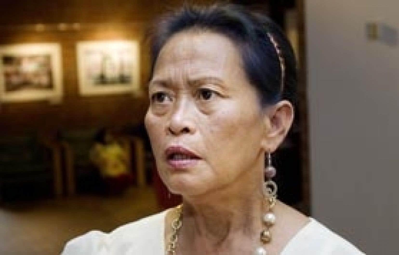 La présidente de l'Association des femmes philippines au Québec, Evelyn Calugay a salué le geste du ministre du Travail hier. «C'est une bonne nouvelle.»