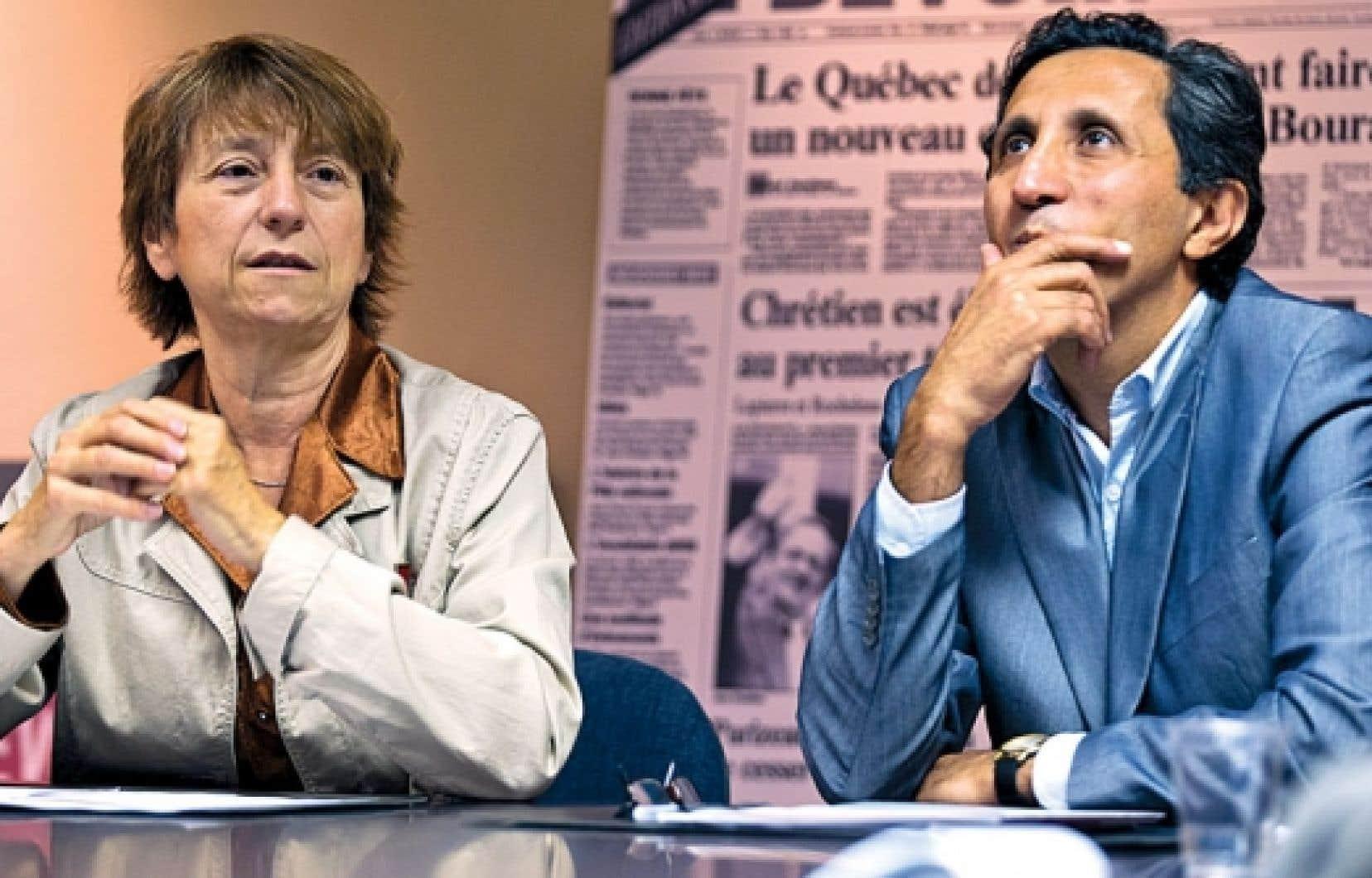 «Nous allons appuyer toutes les mesures, tous les projets de loi qui [...] vont dans le sens du progrès social, d'une économie fondée sur une vision écologiste du développement du Québec et la souveraineté», dit Françoise David.