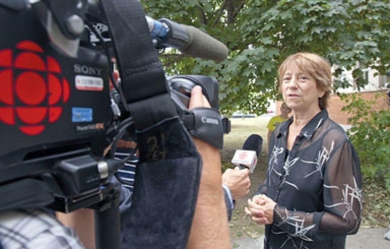 Françoise David a été élue avec plus de 4500 voix d'avance sur son rival péquiste Nicolas Girard.