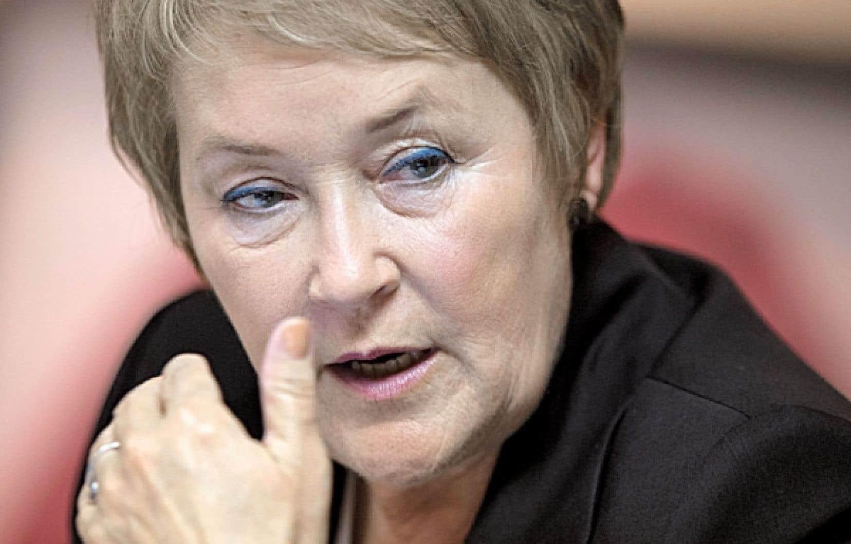 <div> Pauline Marois a toujours été capable de concilier responsabilités familiales et engagement politique.</div>