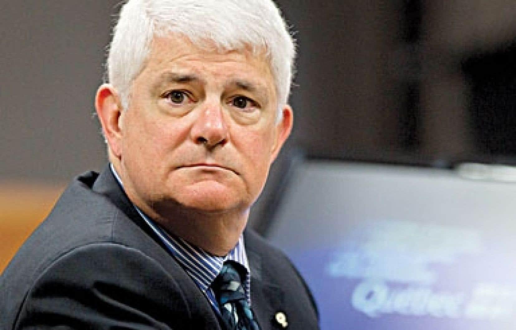 Le procureur en chef de la Commission, Sylvain Lussier