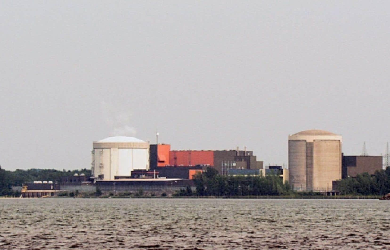 Photo de la centrale nucléaire de Gentilly-2, à Bécancour près de Trois- Rivières, tirée du documentaire Gentilly or Not to Be.