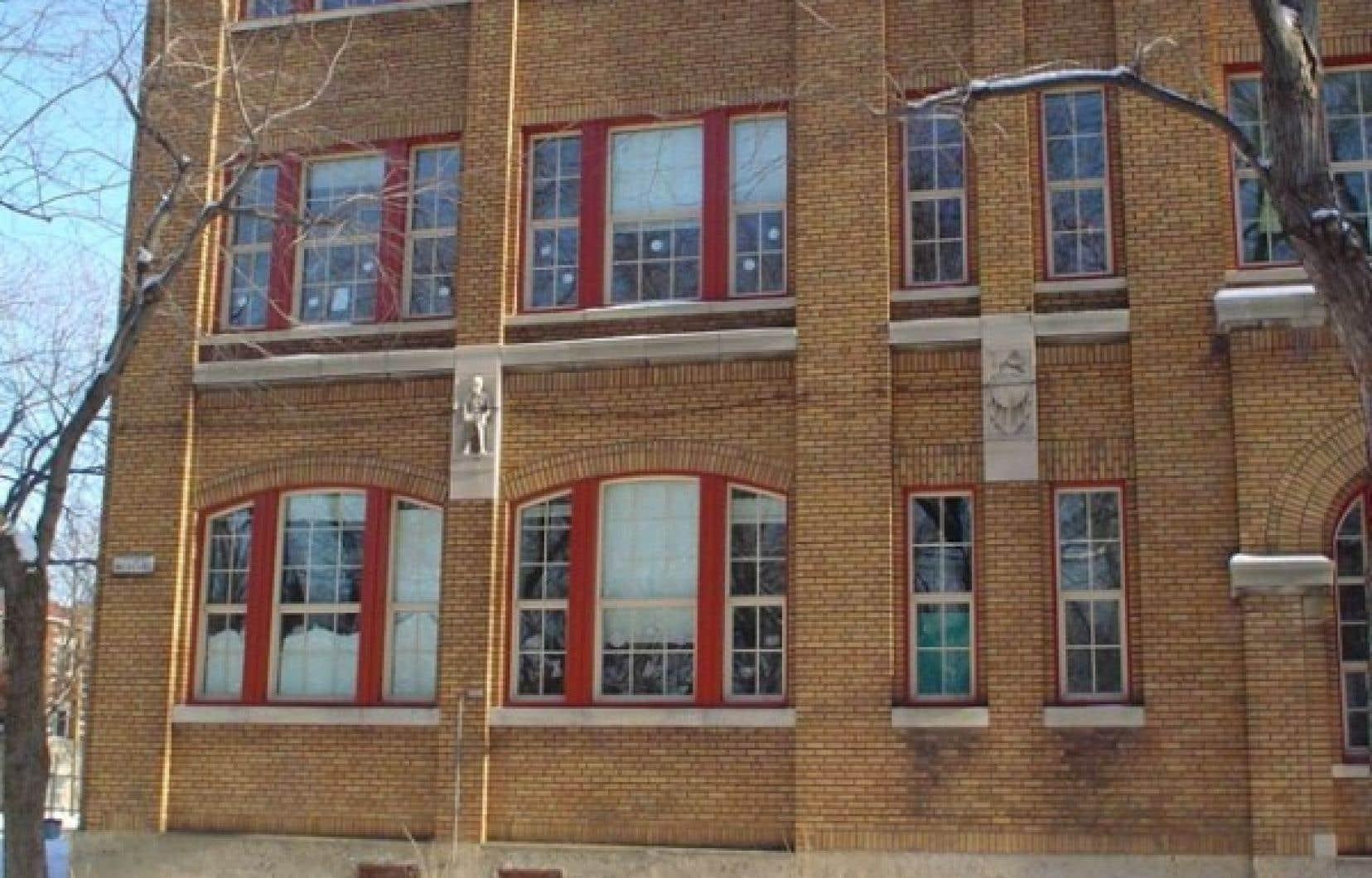 L'école Saint-Louis-de-Gonzague