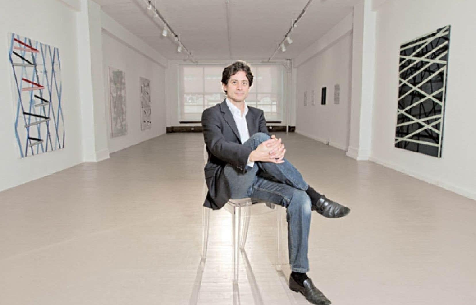 <div> La petite galerie d&rsquo;Hugues Charbonneau lui permet de faire du travail de terrain, de bien accompagner les artistes, un projet &agrave; la fois.</div>