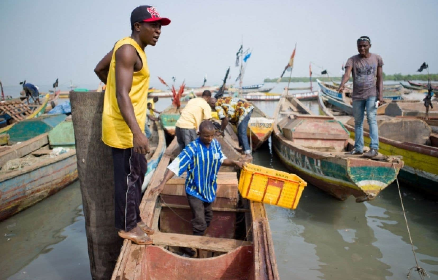 Les pê?cheurs guinéens peuvent recevoir un prêt de la MECREPAG.