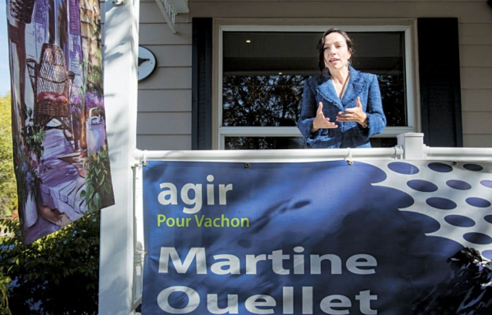 La ministre des Ressources naturelles, Martine Ouellet.