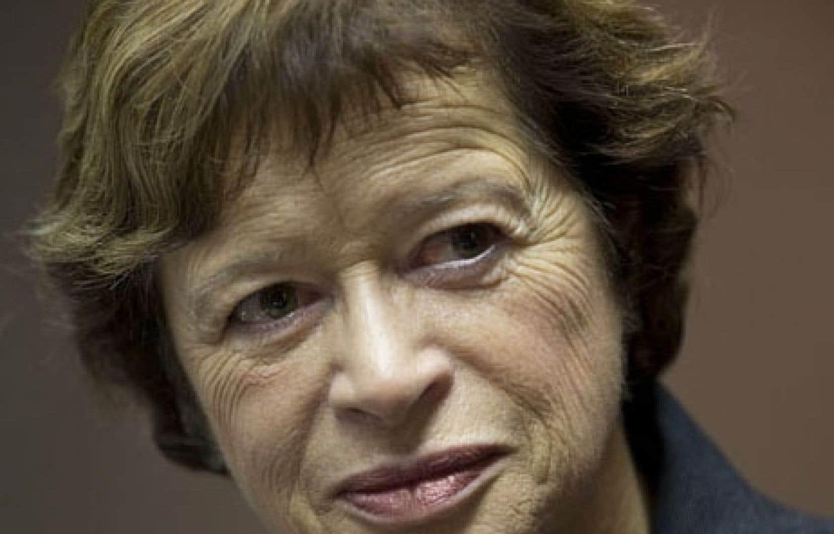 La nouvelle ministre de l'Éducation, Marie Malavoy