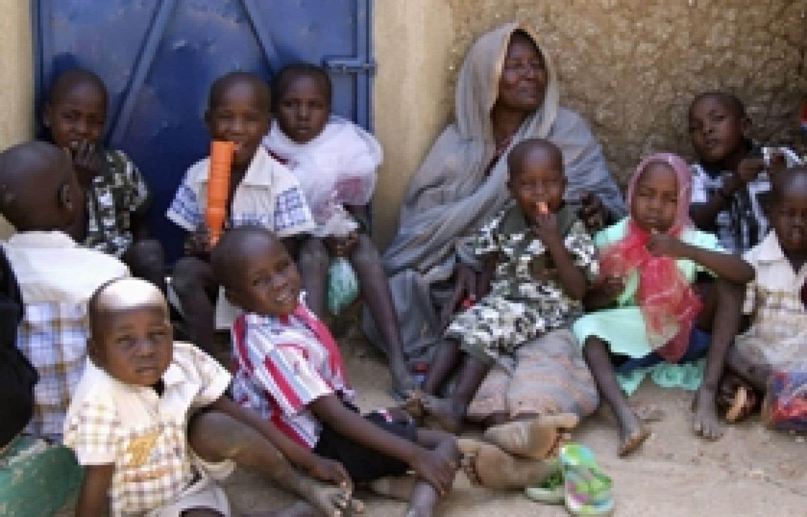 Une partie des 103 enfants concernés.