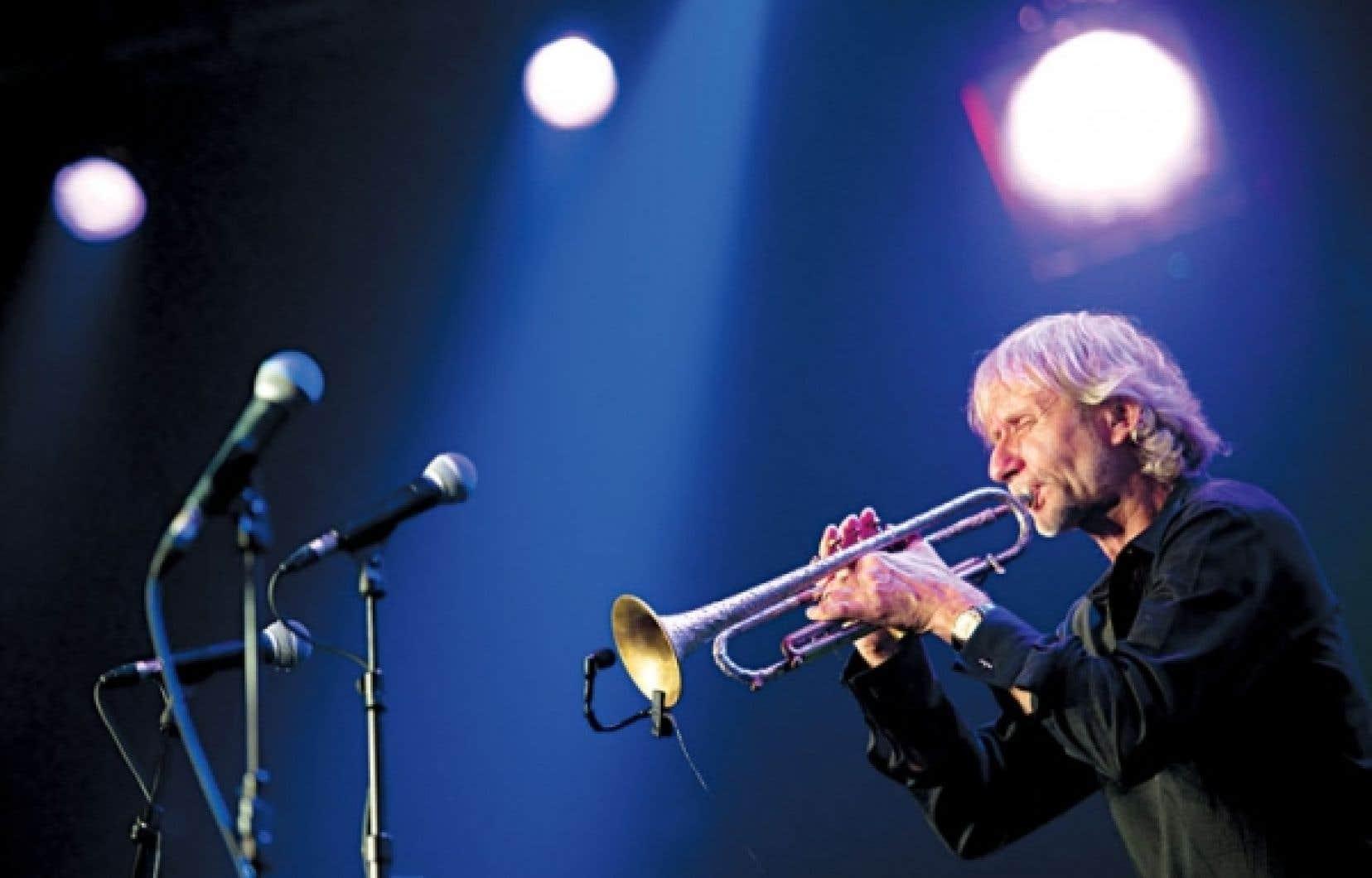 <div> Erik Truffaz au Festival de Montreux en 2011.</div>