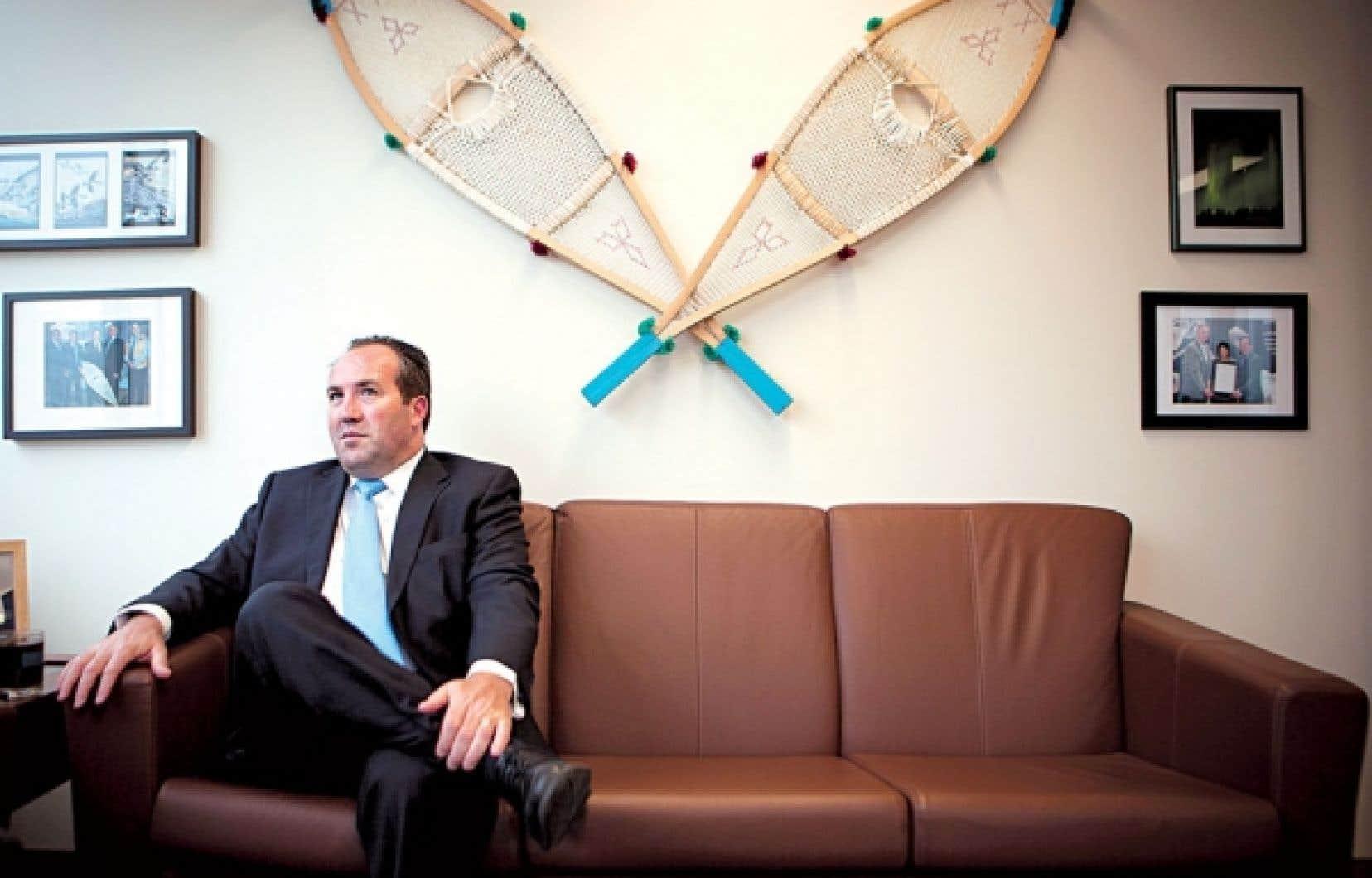 Patrick Godin, vice-président et chef de l'exploitation de Stornoway