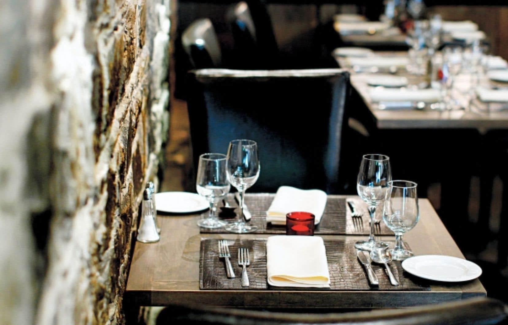 Si le restaurant Feu sacré s'affiche comme un steakhouse, la carte propose aussi une belle variété de gibier, poissons et fruits de mer.