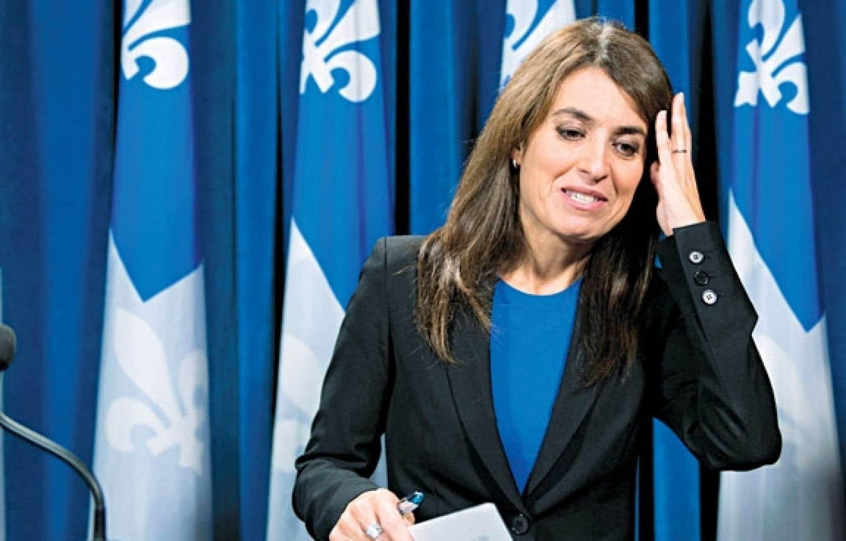 Véronique Hivon a indiqué qu'elle demeurera députée de Joliette.