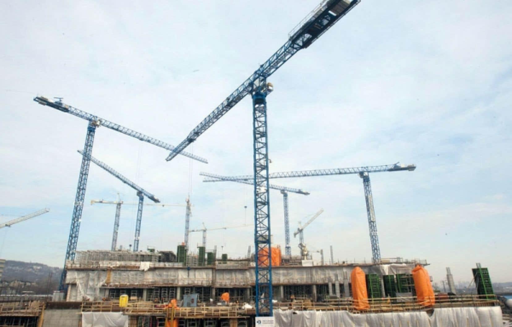 Industrie de la construction concurrence en vue pour des projets de loi sur l int grit le for Loi sur les constructions