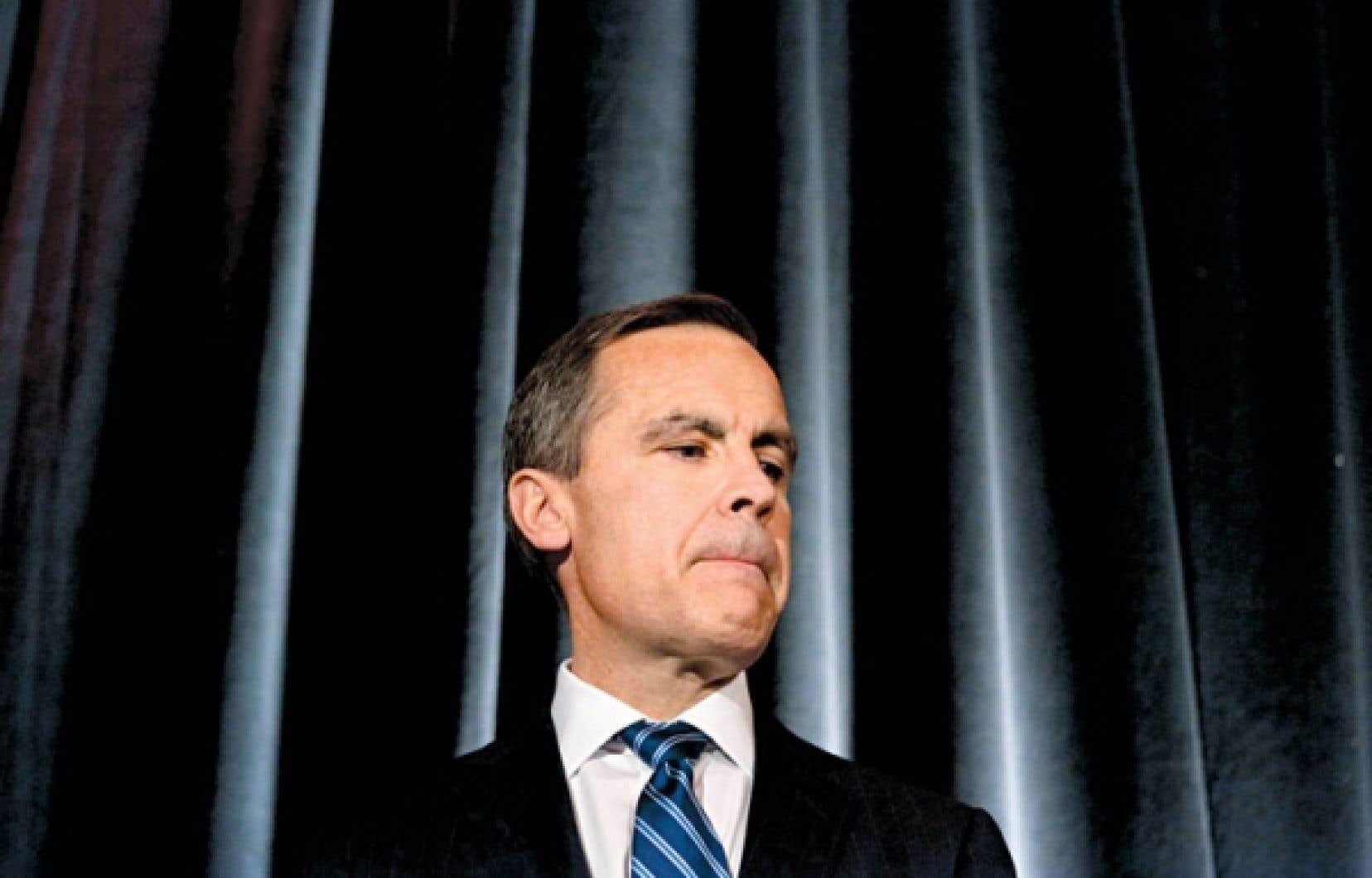 Mark Carney va surveiller «l'évolution des déséquilibres dans le secteur des ménages».