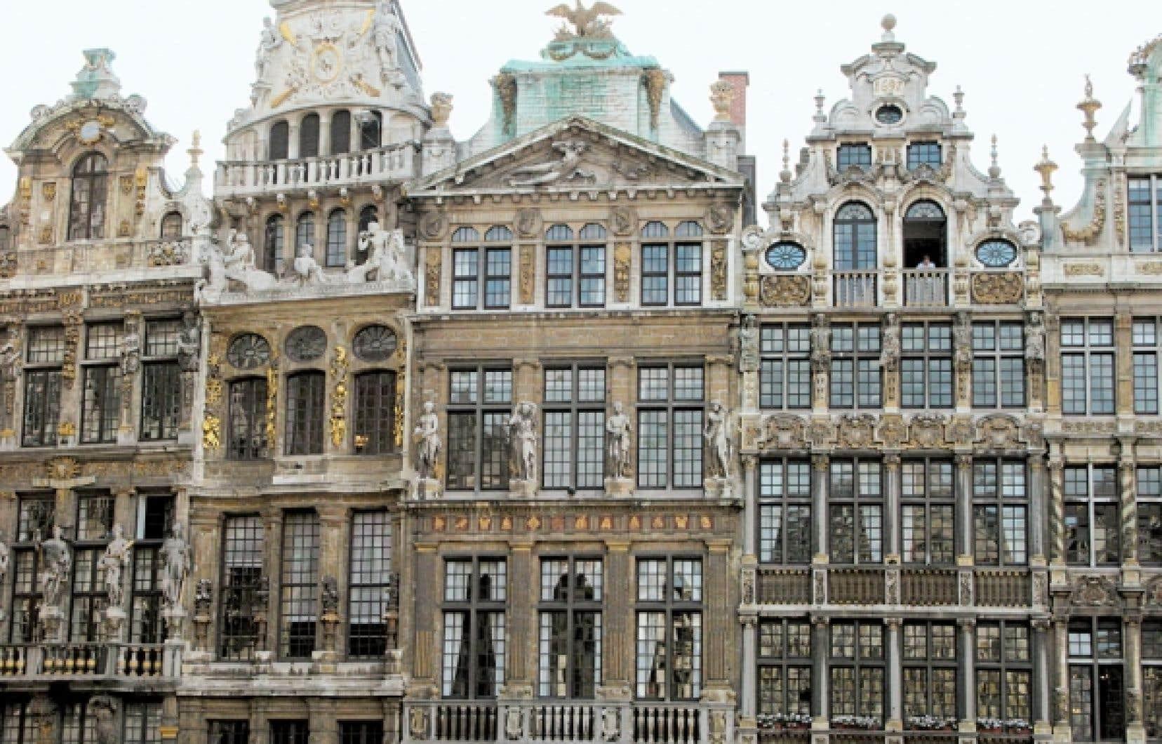 La Grand-Place de Bruxelles, classée au Patrimoine mondial de l'humanité par l'UNESCO.