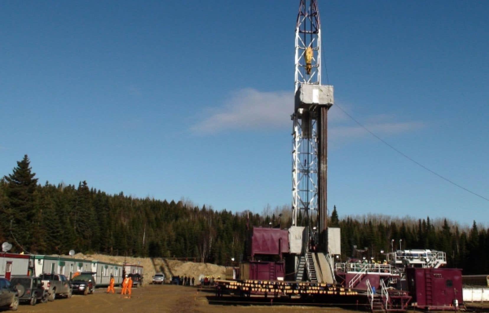 Petrolia effectue notamment des forages en Gaspésie à la recherche de l'or noir.